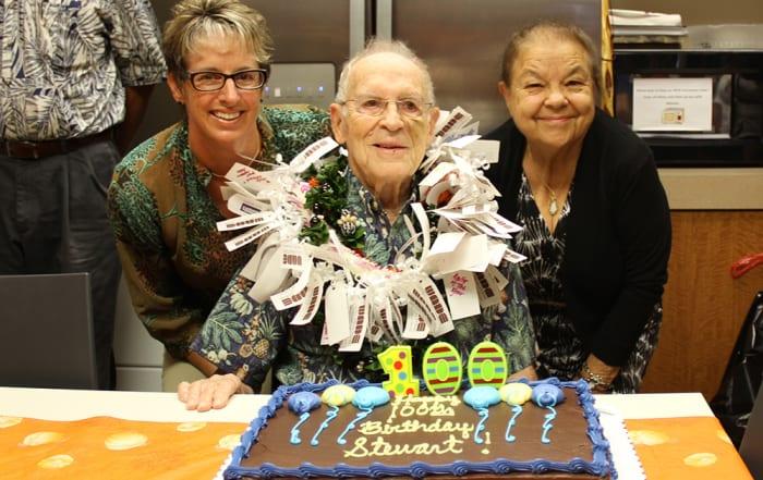Happy 100th Birthday, Stewart!