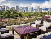 City Skyline in Honolulu
