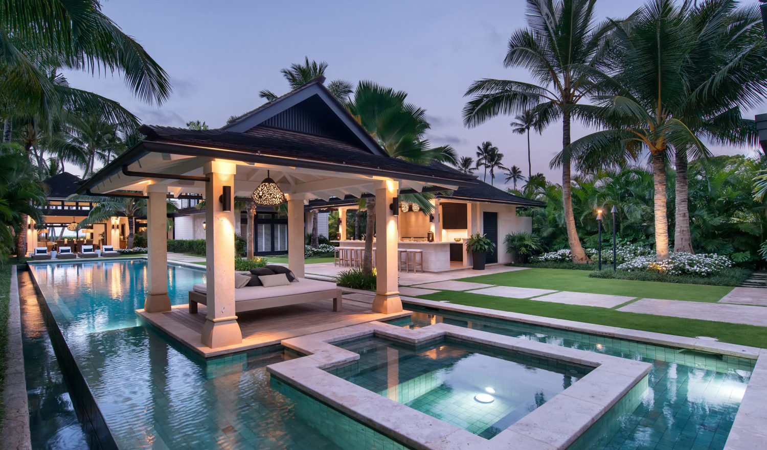 three blissful and summer ready backyards in oahu