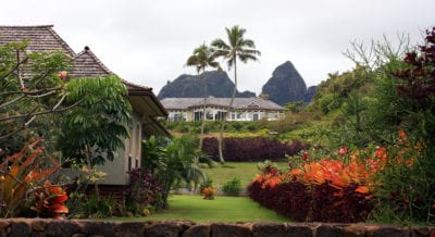 A Hawaiian house